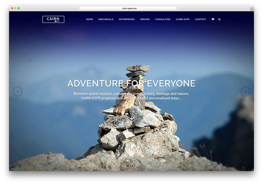 cairn-expe-travel-website-bridge-example