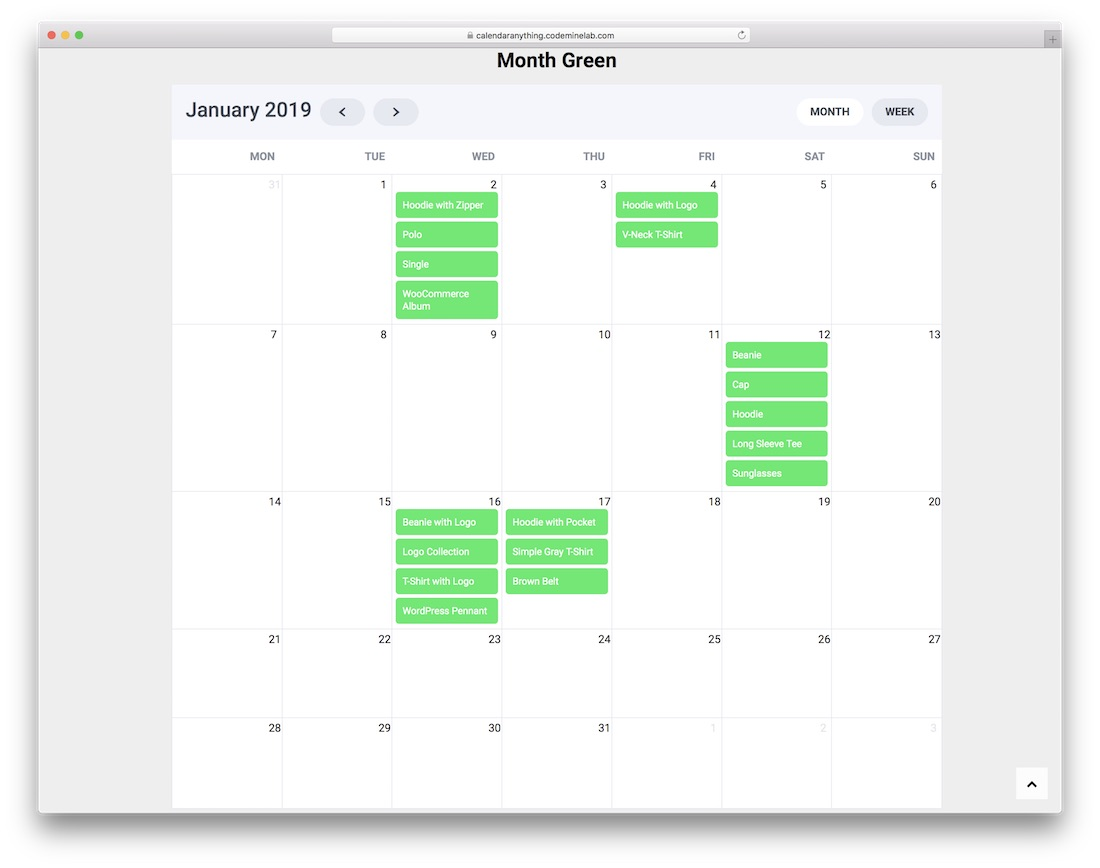 calendar anyting wordpress plugin