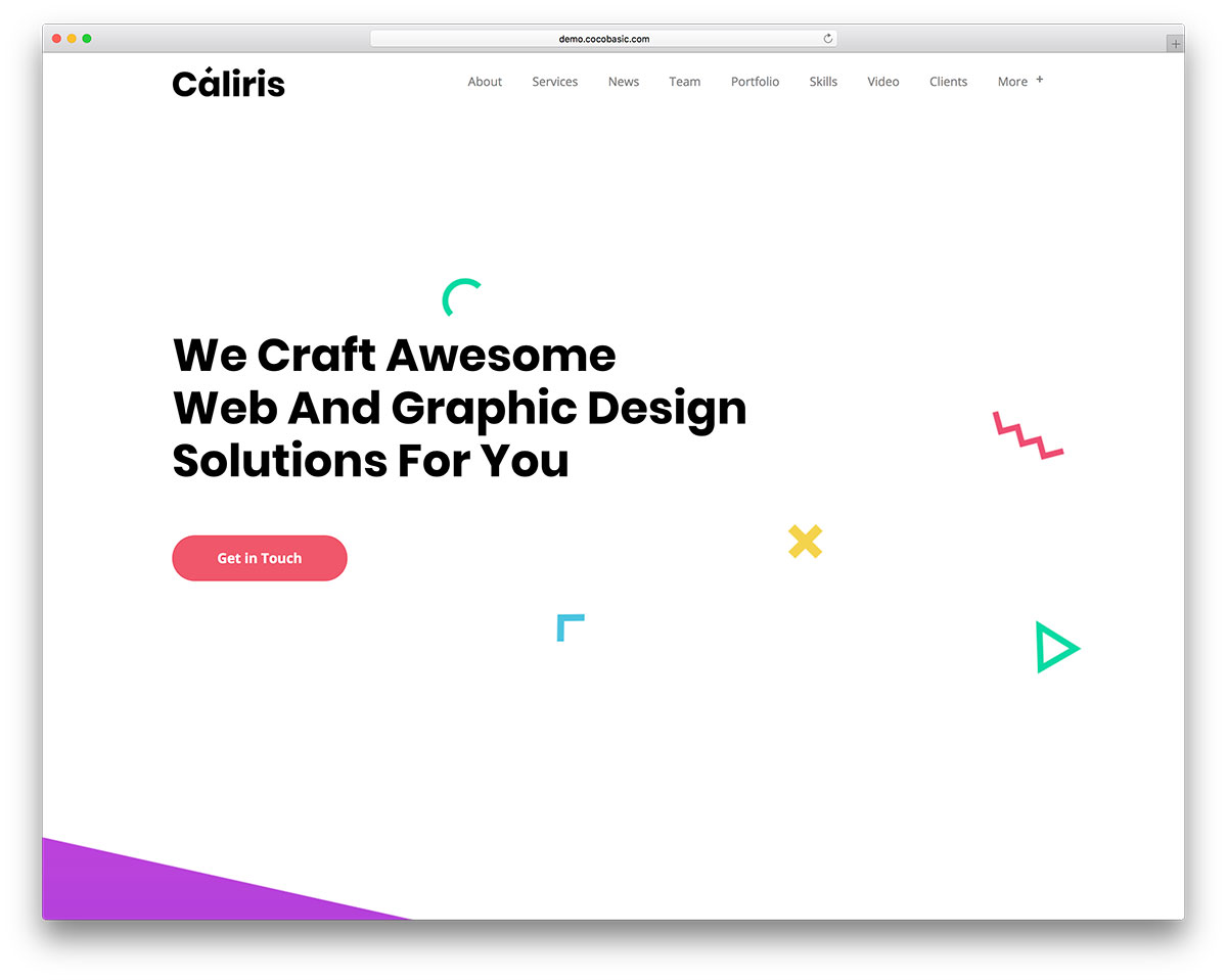 40 Best One Page Wordpress Themes 2019 Colorlib