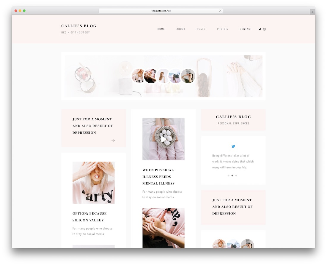 callie wordpress theme
