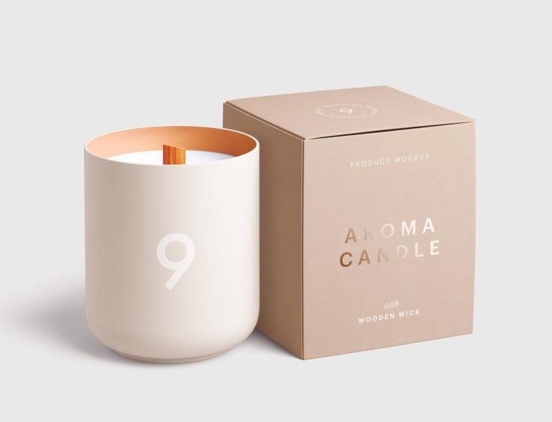 Candle Mockup