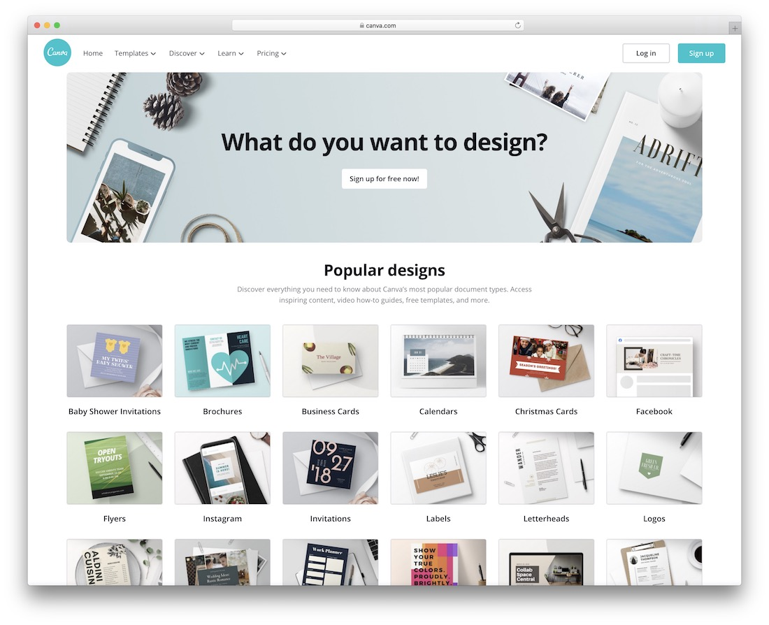 canva tool for graphic designers