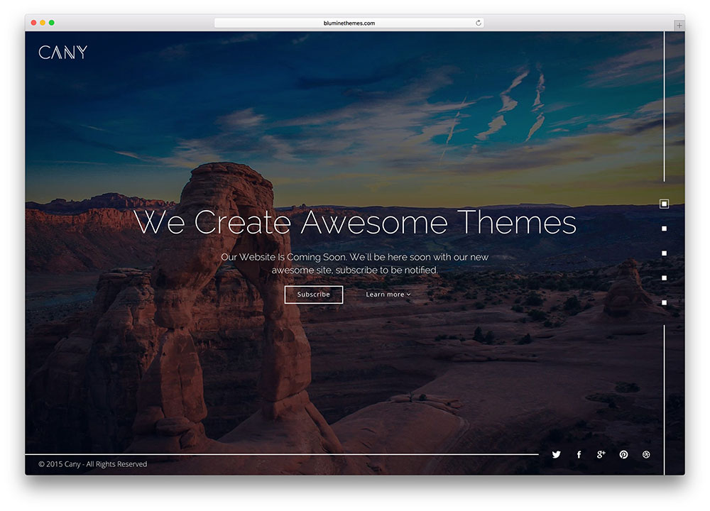 cany-creative-fullscreen-html-website-template