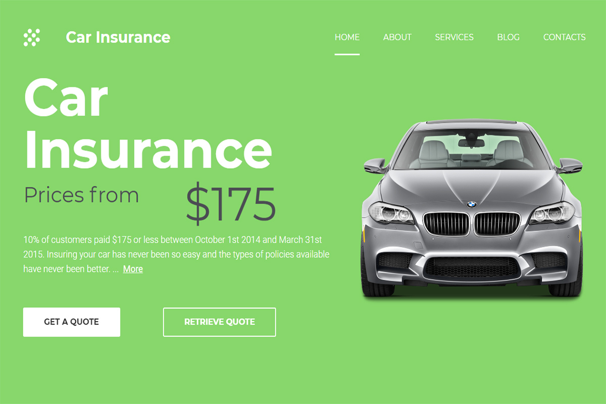 20 Best Insurance Website Templates For Insurance And Investments Companies 2018