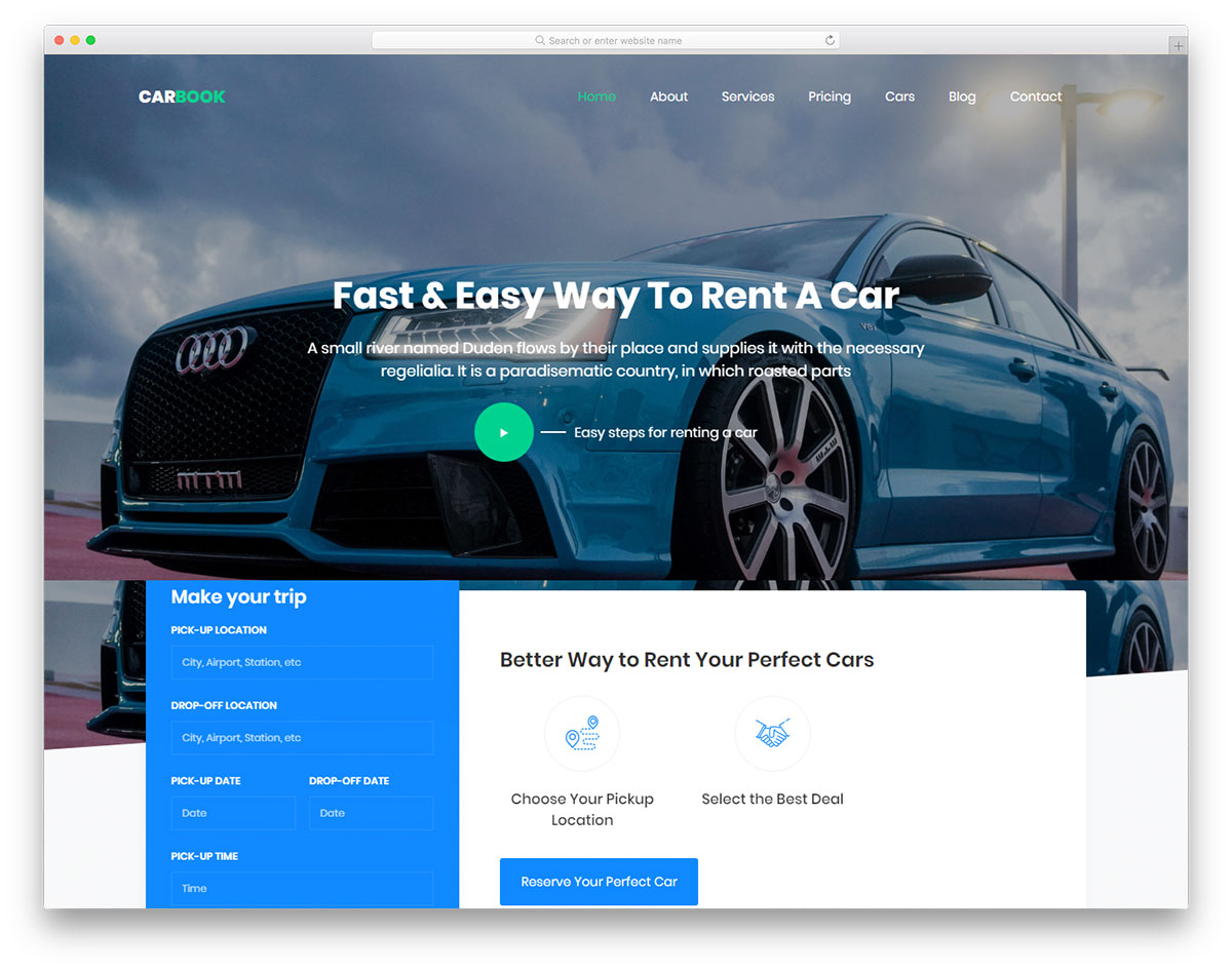 Carbook Free Template