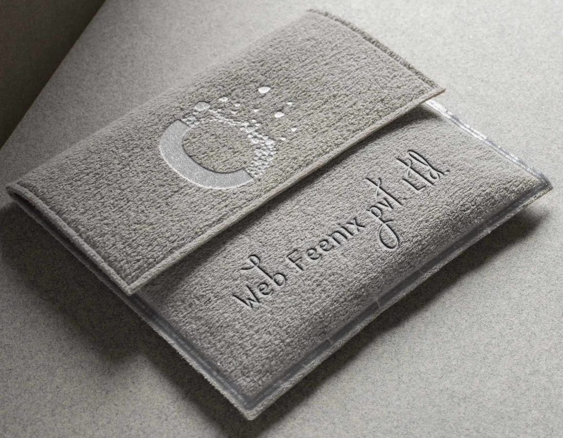 card pouch psd mockup
