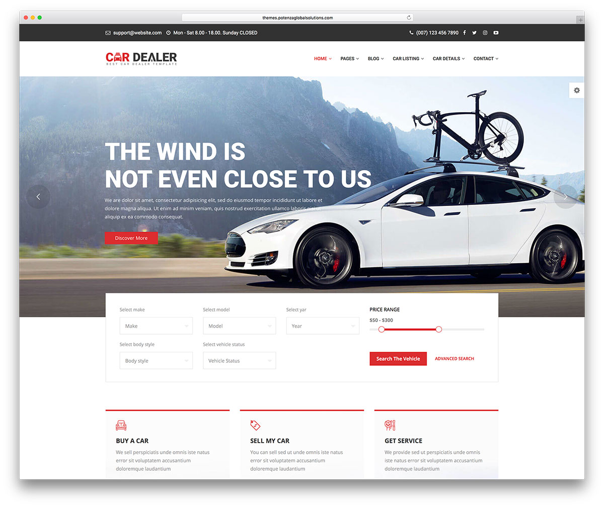 22 Top Car & Automotive Website Templates 2019 - Colorlib