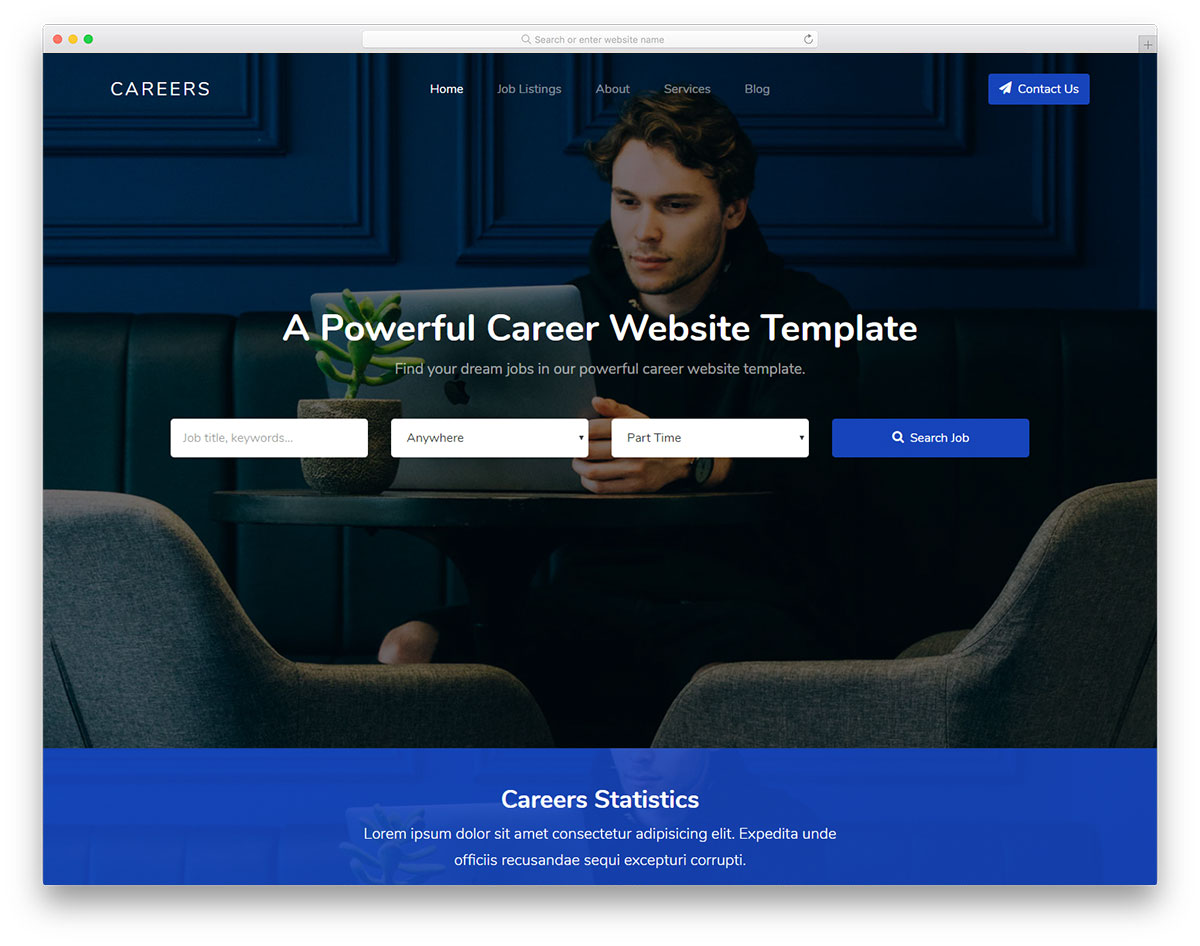 Careers Free Template
