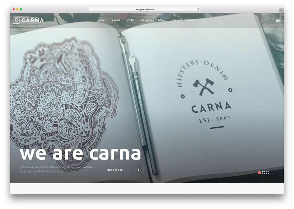 carna-corporate-portfolio-site-template