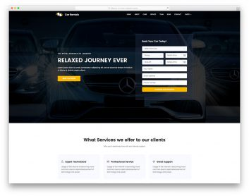 Car Rental Free Template