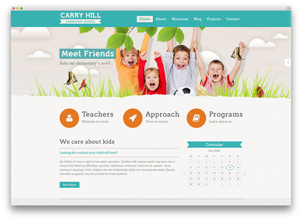 carry hill - kids education theme