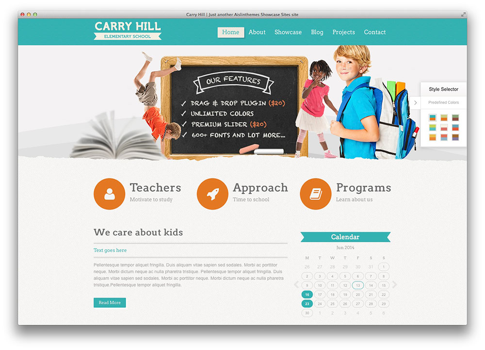 carry hill education theme