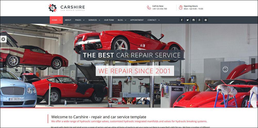 Car Shire || Auto Mechanic & Car Repair WordPress Theme