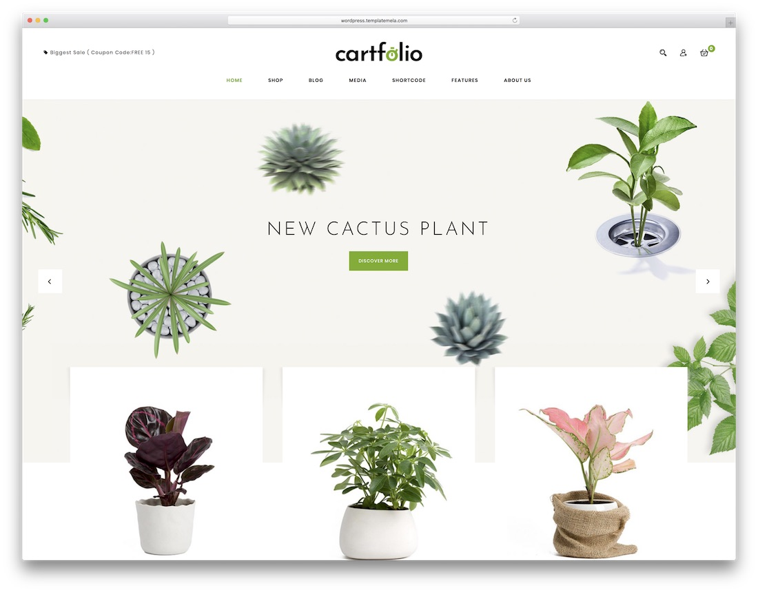 cartfolio multipurpose wordpress theme