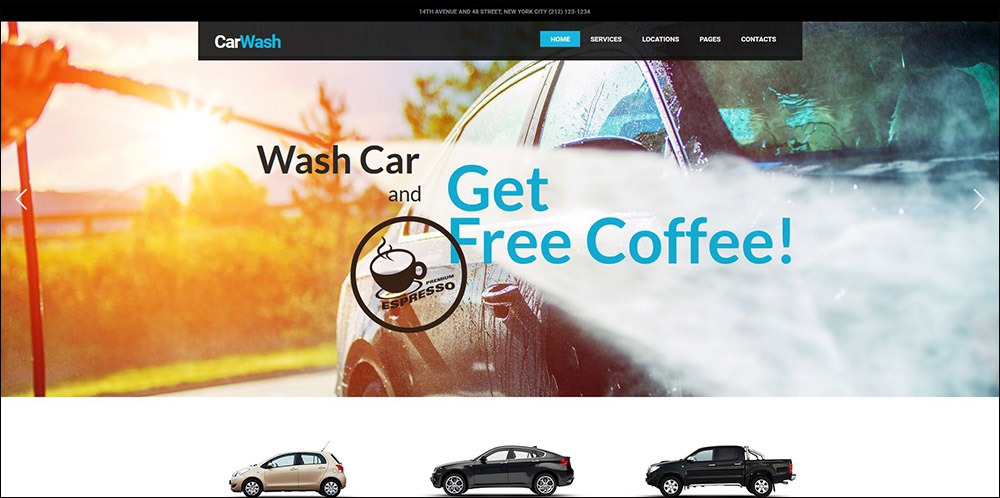 Car Wash, Auto Mechanic & Repair Shop Theme