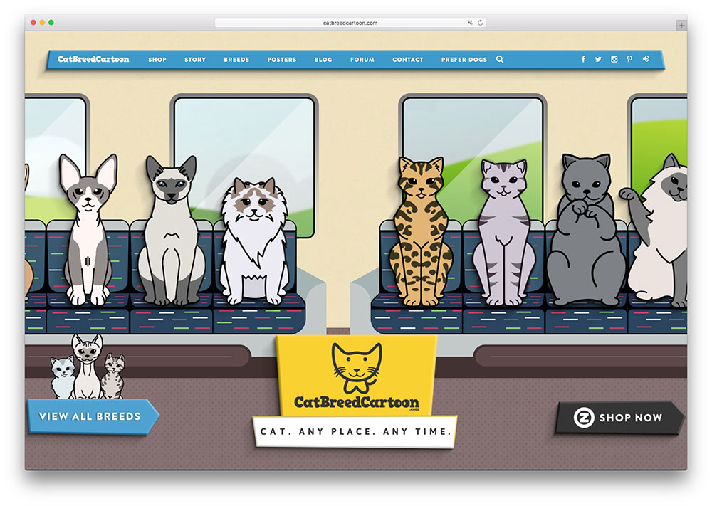 catbreedcartoon-cat-ecommerce-site-using-x-theme