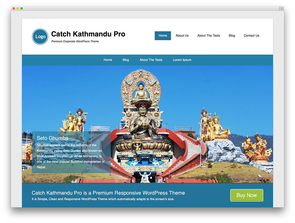 kathmandu agency theme