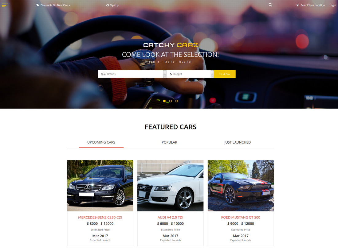 catchy-carz-bootstrap-social-network-templates