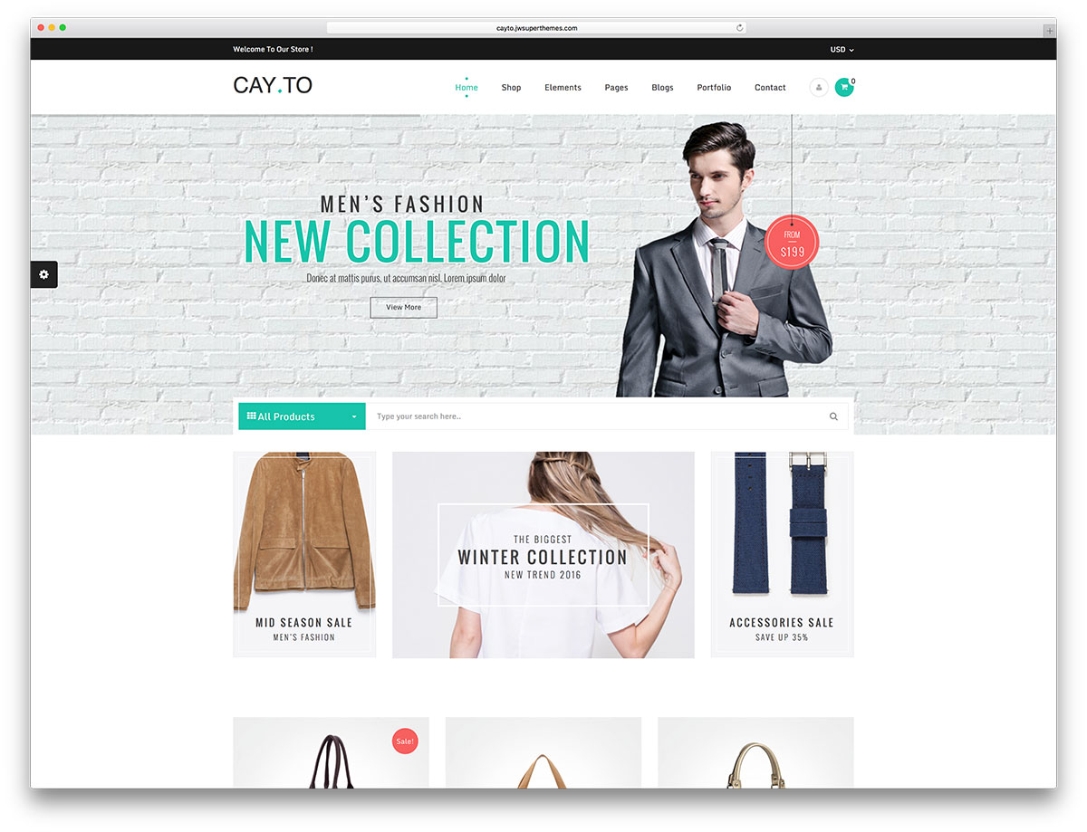 cayto-simple-wordpress-woocommerce-template