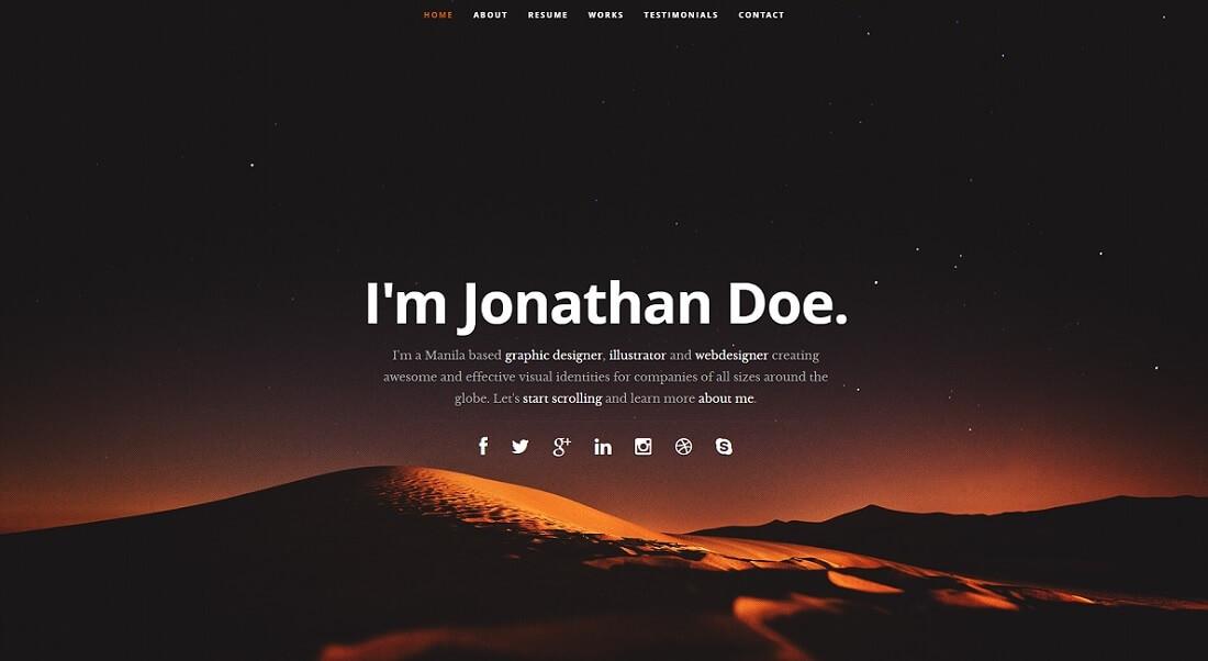 ceevee free HTML website template