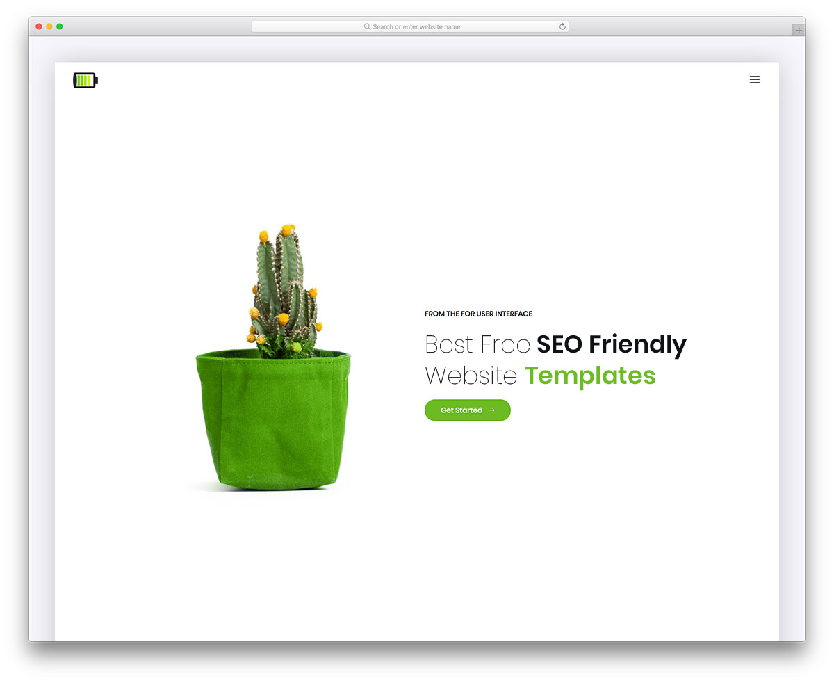20 Best Free SEO Friendly Website Templates For Every Niche