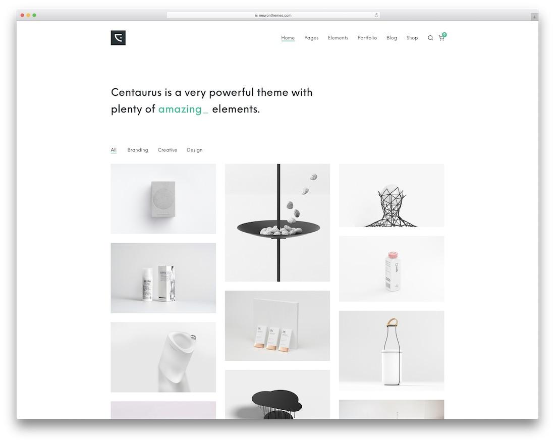 centaurus creative wordpress theme