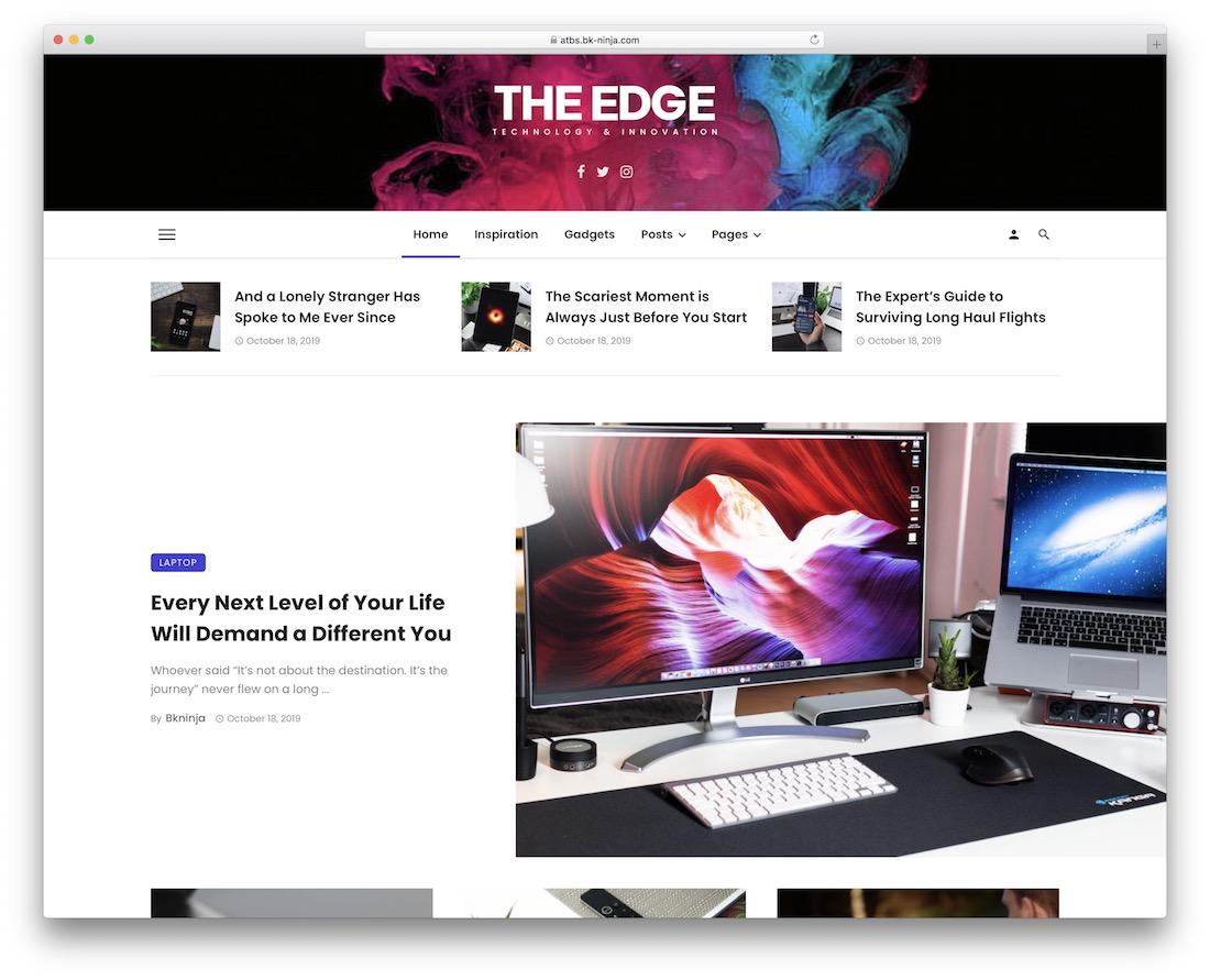 ceris technology news wordpress theme