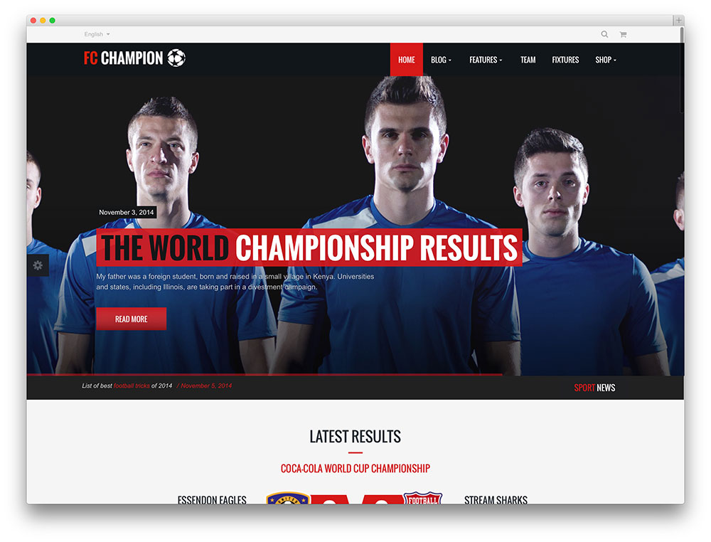 40c4d52ca77b Best WordPress Sports Themes For Magazines and Sports Teams 2019 ...