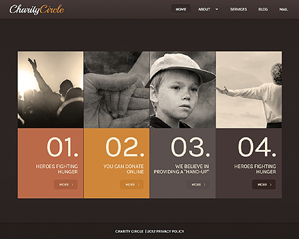 Child Charity WordPress Theme