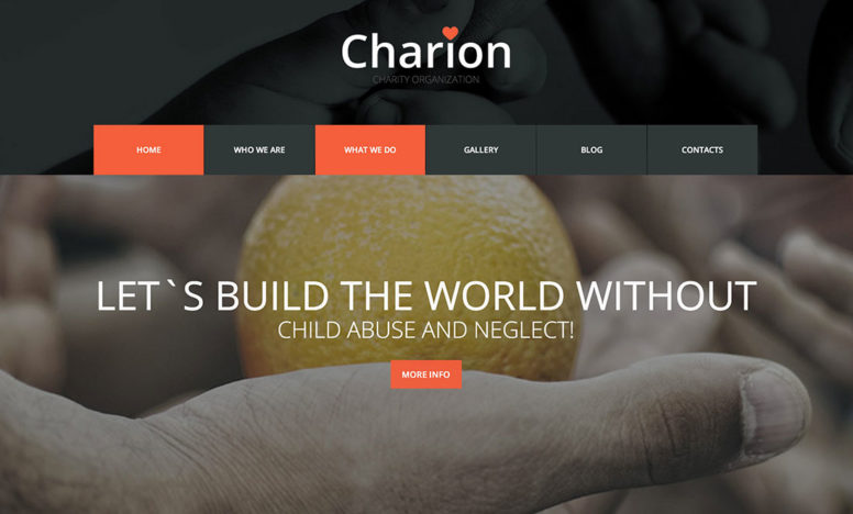 20 Charity WordPress Themes To Make The World A Better Place 2014