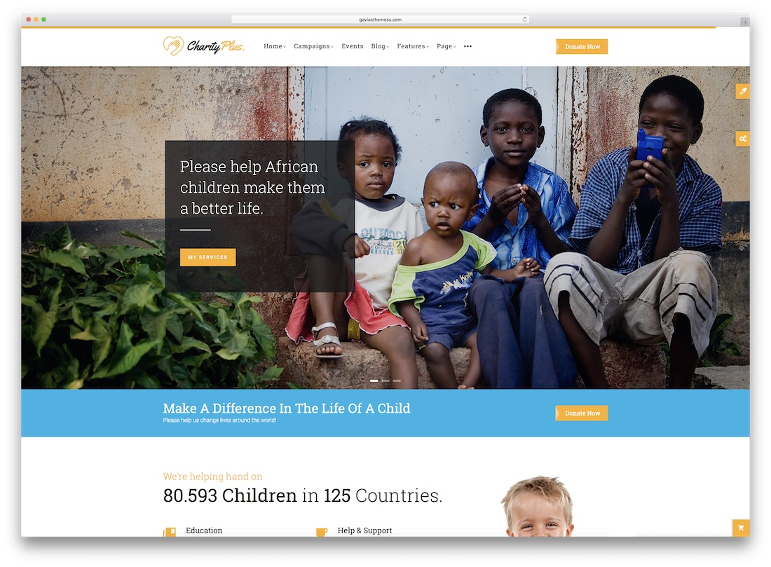 charityplus responsive ubercart theme