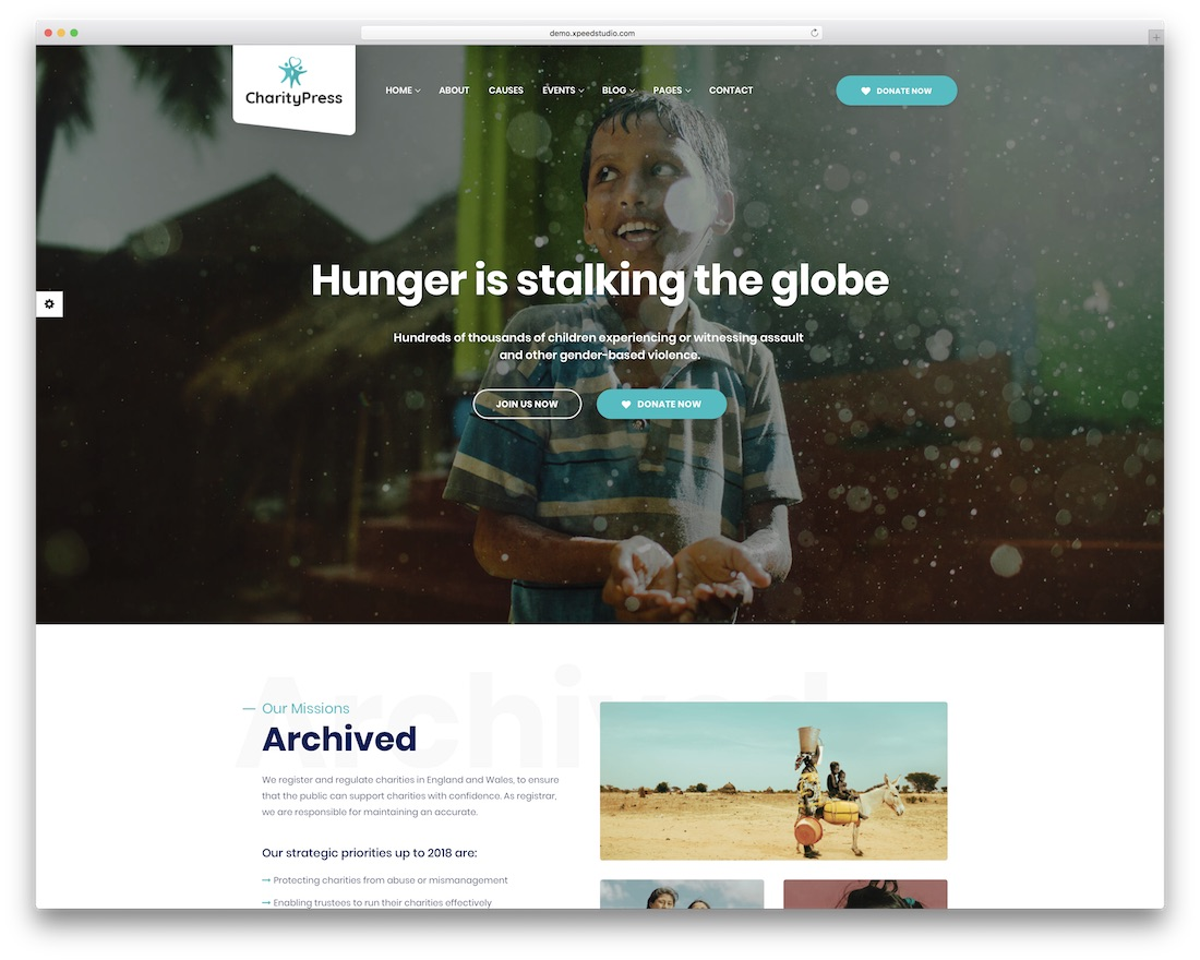 Charitypress Html Charity Website Template