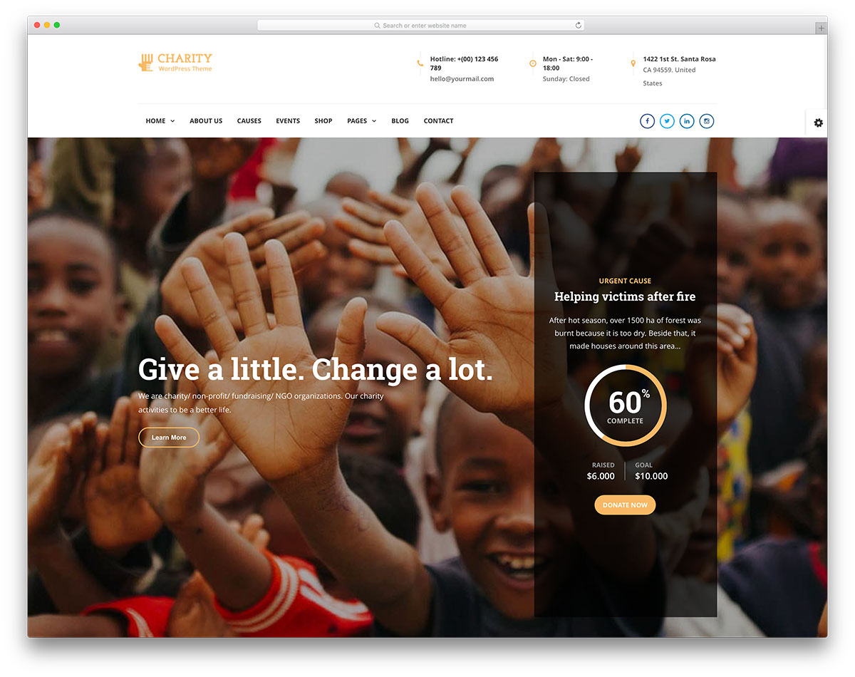 "charitywp-charity-wordpress-website-template ""width =""1200 ""height =""950 ""srcset =""https://colorlib.com/wp/wp-content/uploads/sites/2/charitywp-charity-wordpress-website -template.jpg 1200w, https://colorlib.com/wp/wp-content/uploads/sites/2/charitywp-charity-wordpress-website-template-300x238.jpg 300w, https://colorlib.com/wp /wp-content/uploads/sites/2/charitywp-charity-wordpress-website-template-768x608.jpg 768w, https://colorlib.com/wp/wp-content/uploads/sites/2/charitywp-charity- wordpress-website-template-1024x811.jpg 1024w ""data-lazy-sizes =""(최대 폭 : 1200px) 100vw, 1200px ""src =""https://cdn.colorlib.com/wp/wp-content/uploads/ sites / 2 / charitywp-charity-wordpress-website-template.jpg ""/></p> <p><noscript><img class="