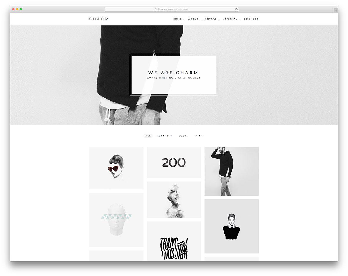 charm-simple-portfolio-website-template