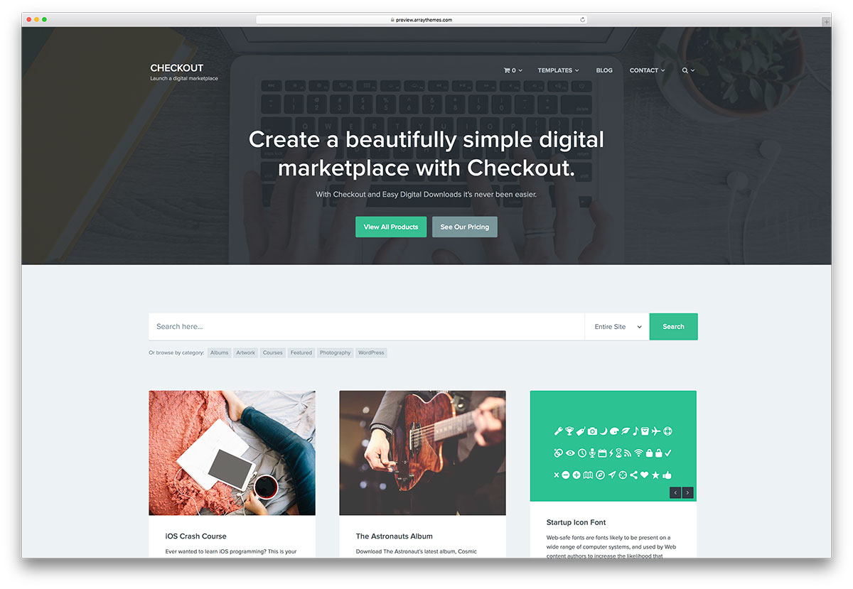 checkout-marketplace-wordpress-theme