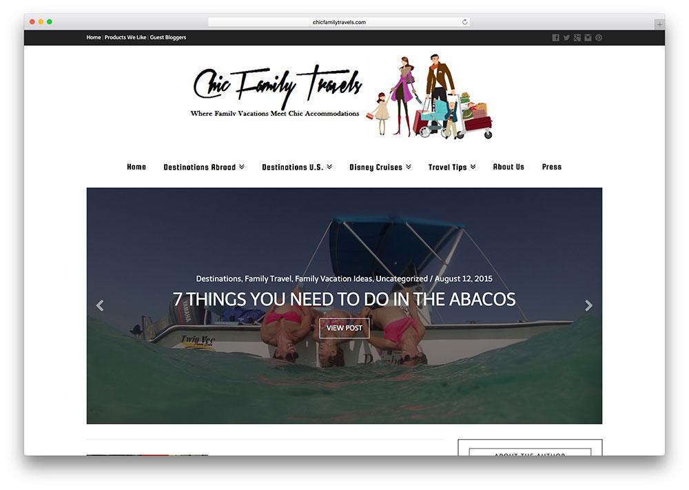 chicfamilytravels-travel-website-example-with-x-wordpress
