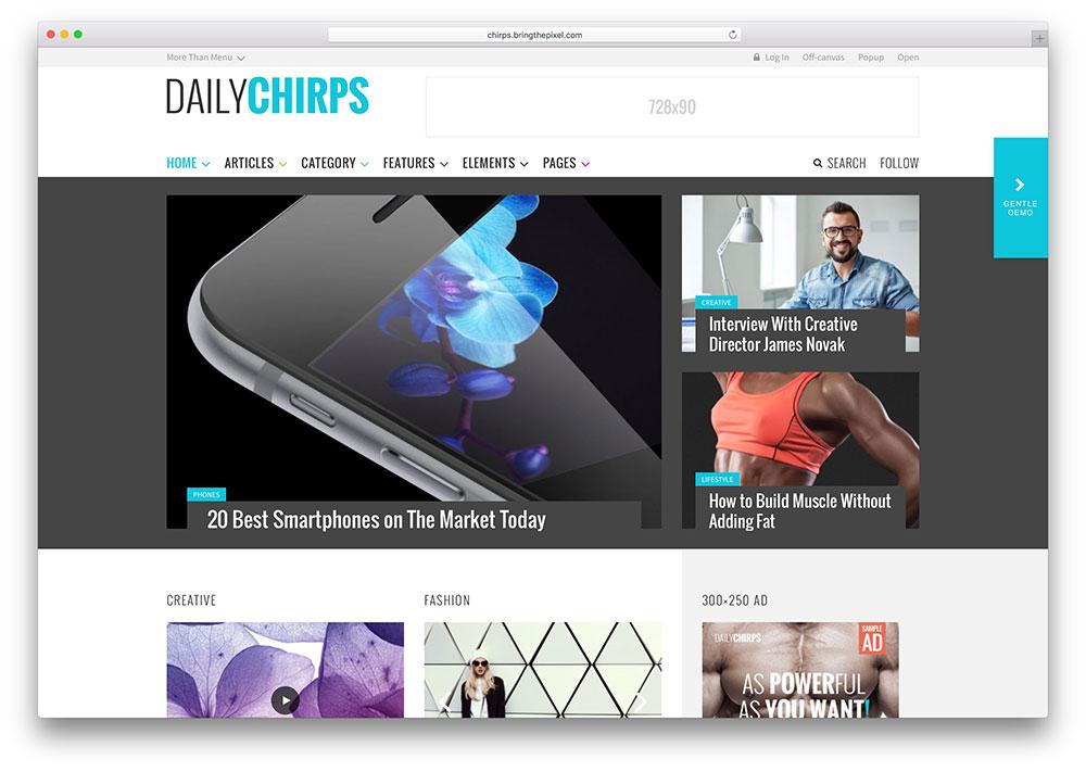 chirps-simple-technology-magazine-theme