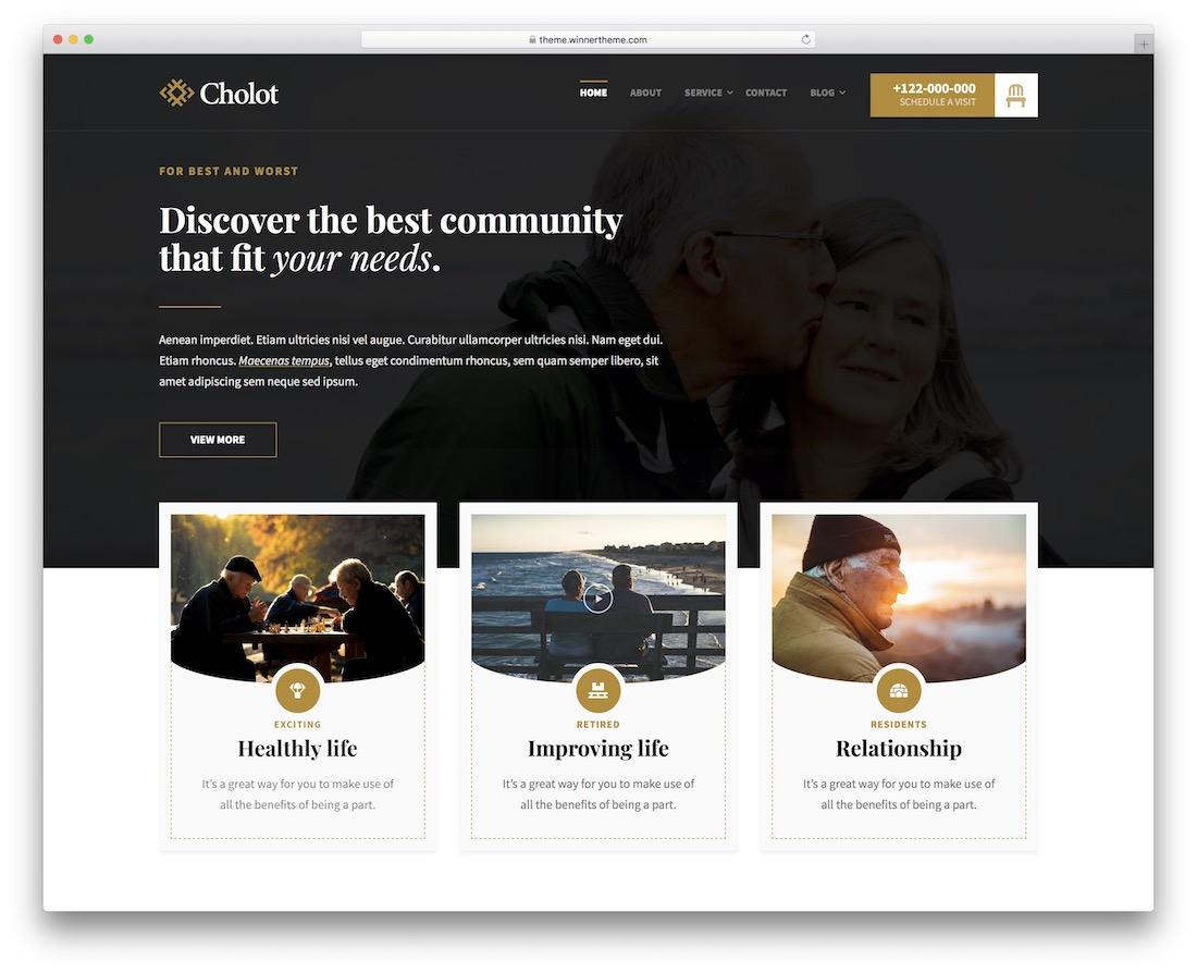 cholot social network template