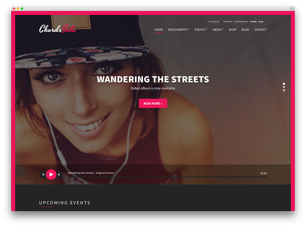 chords music artist theme