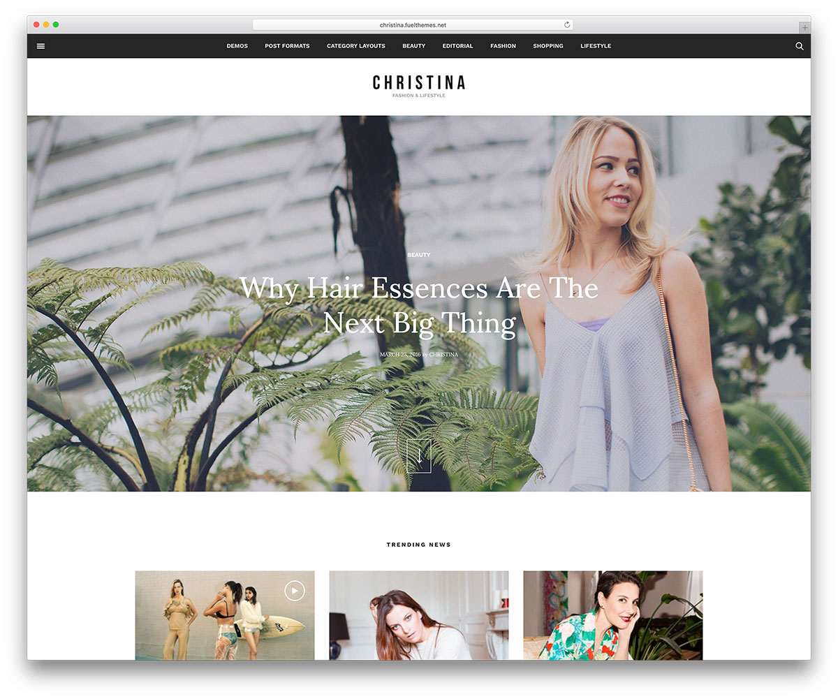 christina-light-wordpress-blog-template