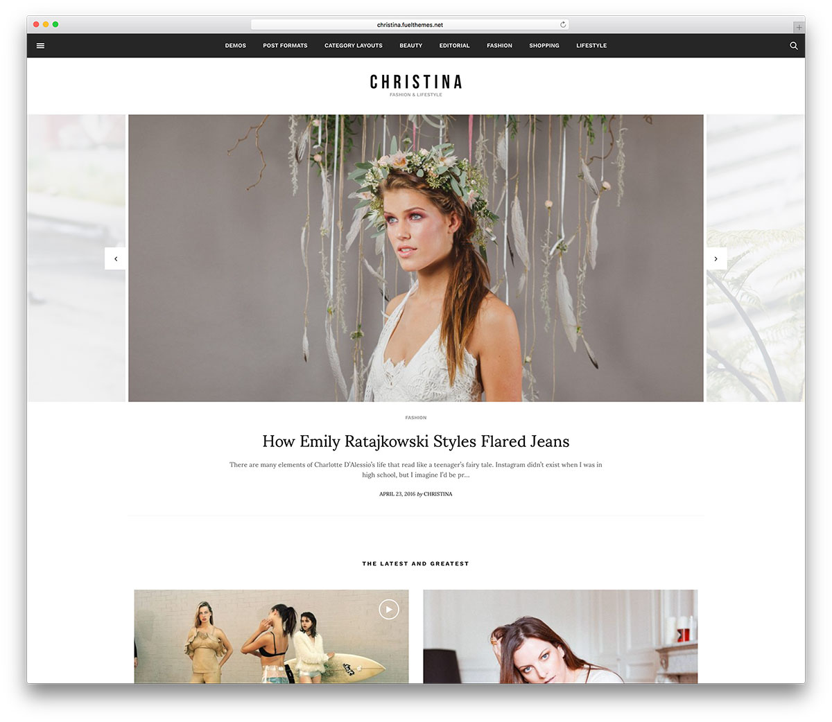 christina-minimal-fashion-blog-wordpress-theme