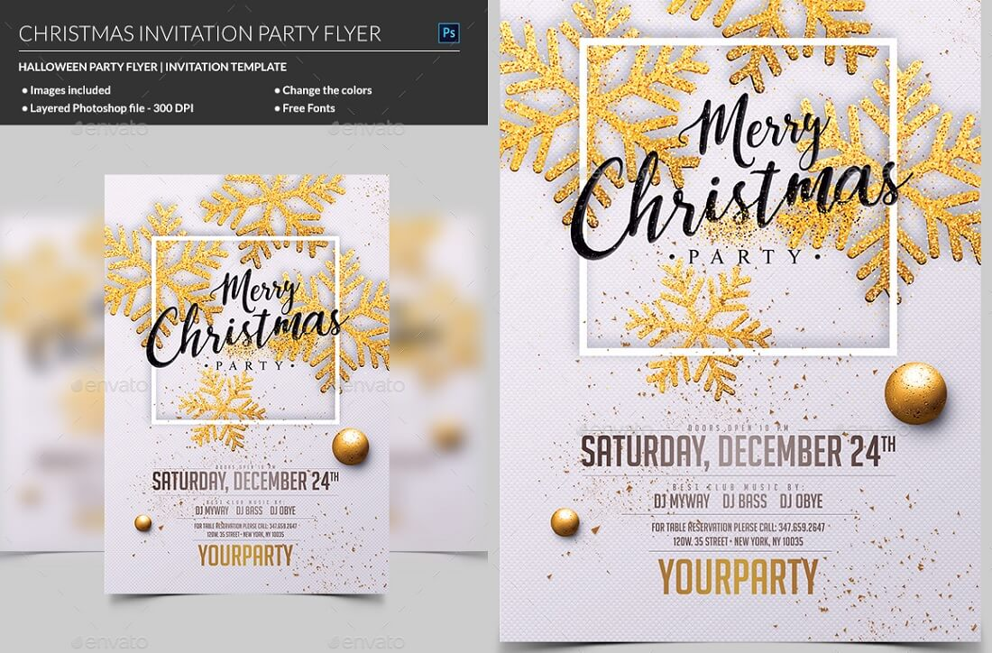 5 Best Editable Party Invitation Templates in 5 - Colorlib