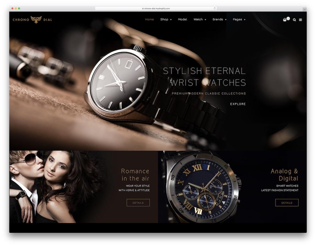 chrono digital fashion shopify theme