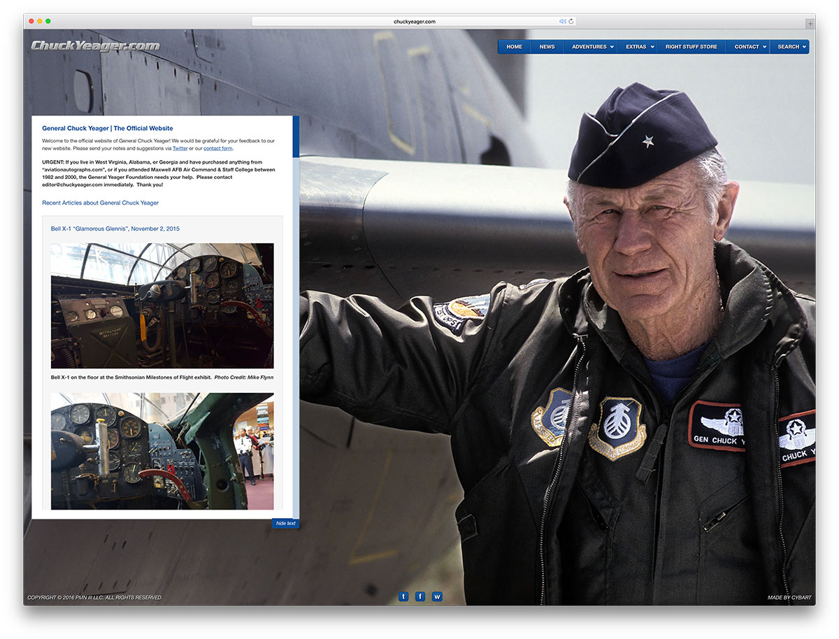 chuckyeager-military-website-example-with-wp