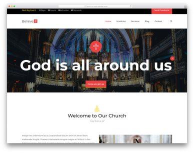 Church Free Template