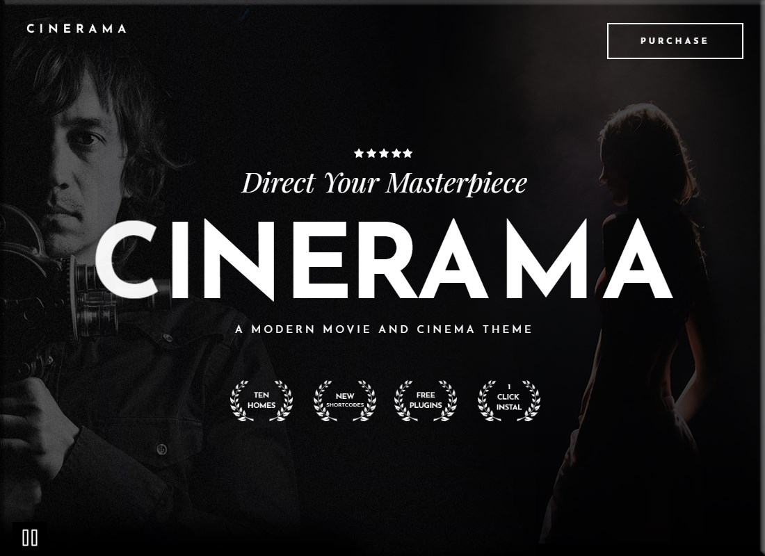 , 20 Best WordPress Themes for Filmmakers 2019, Rojak WP