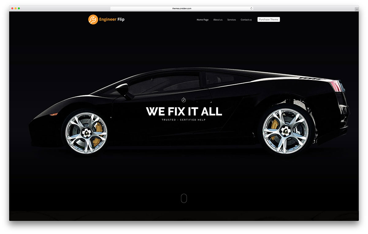 circleflip-automotive-wordpress-theme