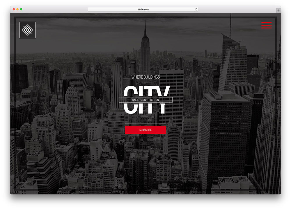 city-creative-product-launch-website-template