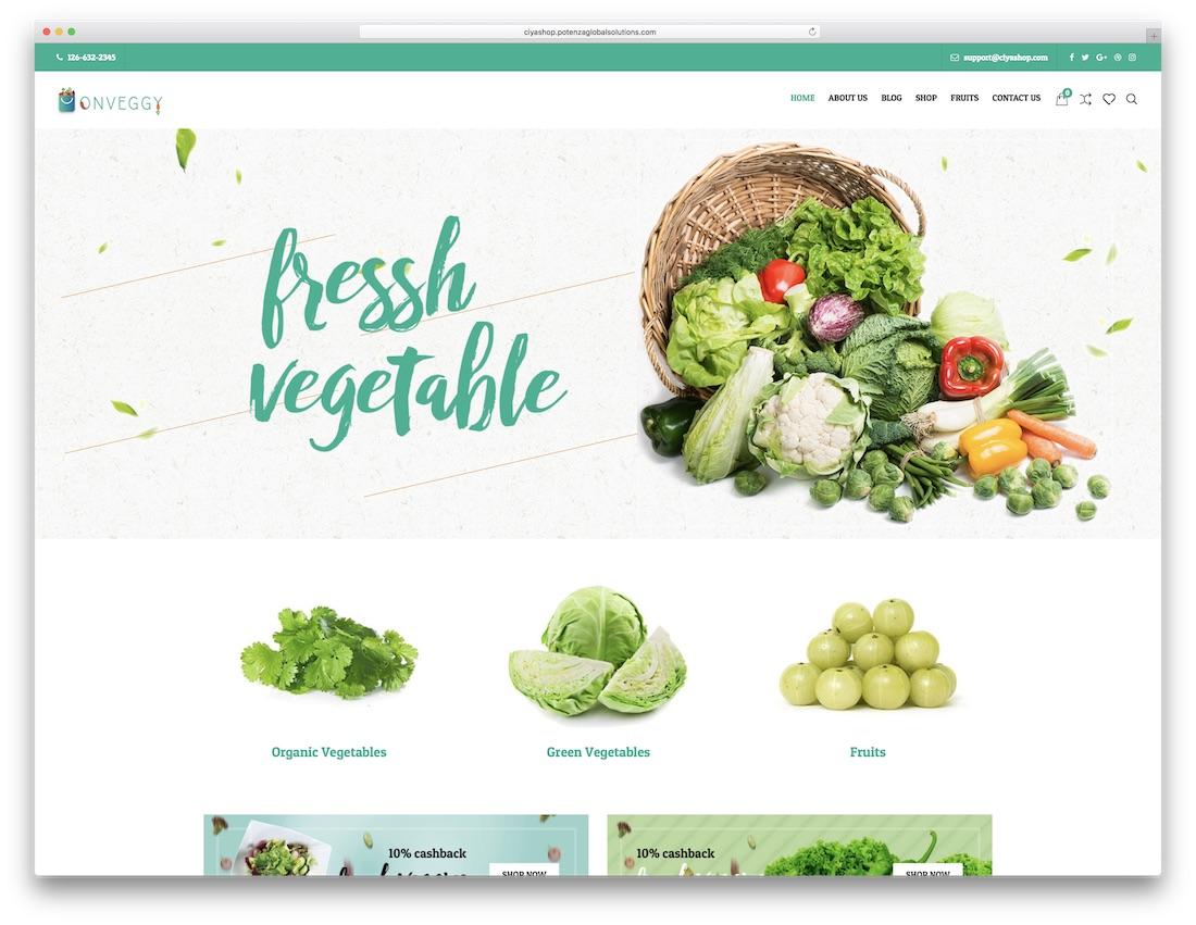 ciyashop green eco friendly wordpress theme