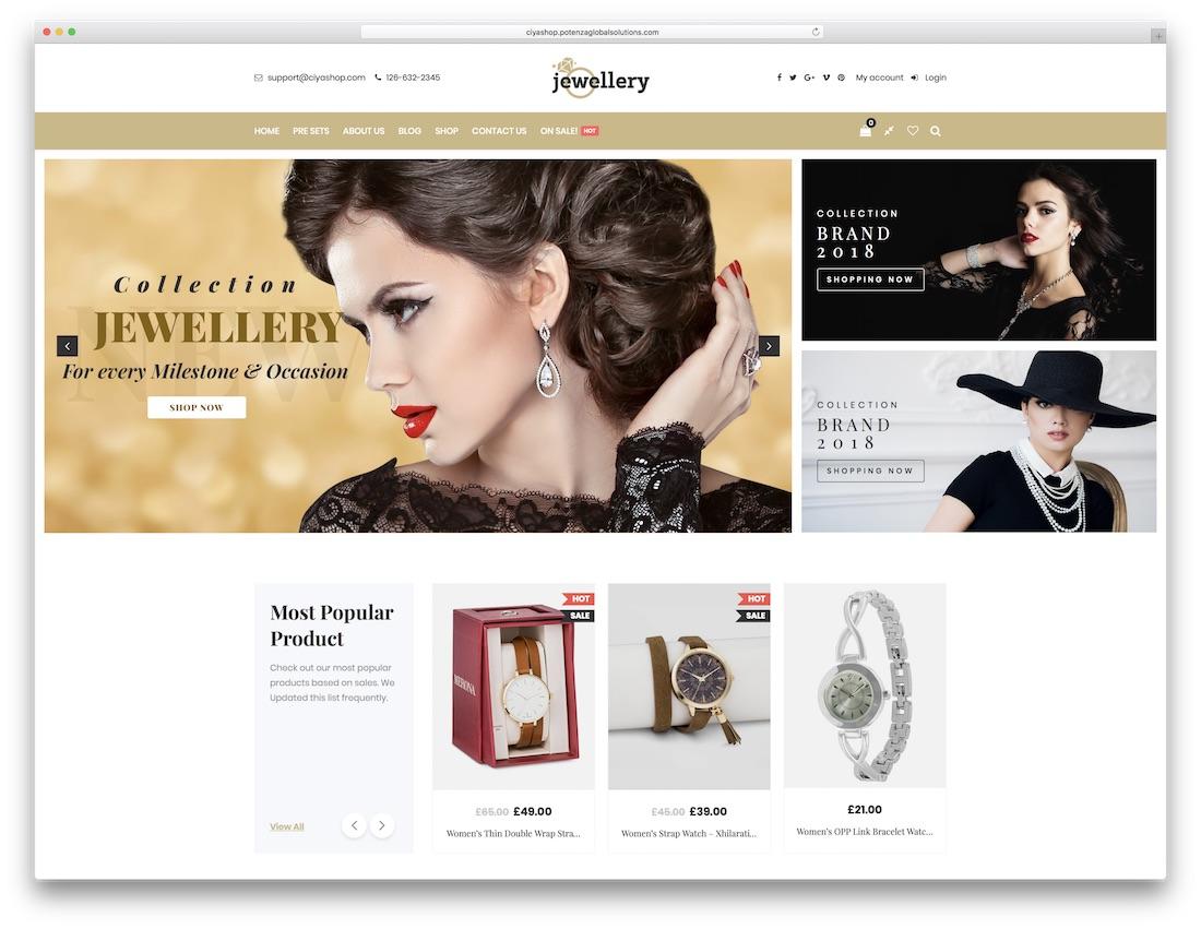 ciyashop jewelry wordpress theme